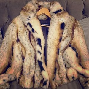 Olympia Limited Inc Faux Fur Coat